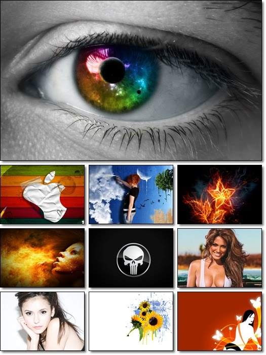 Full HD Mixed Wallpapers Pack 91 by Smpx