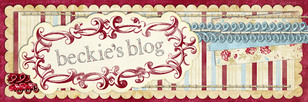 Beckie's Blog
