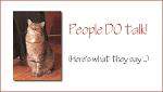 People DO TALK!