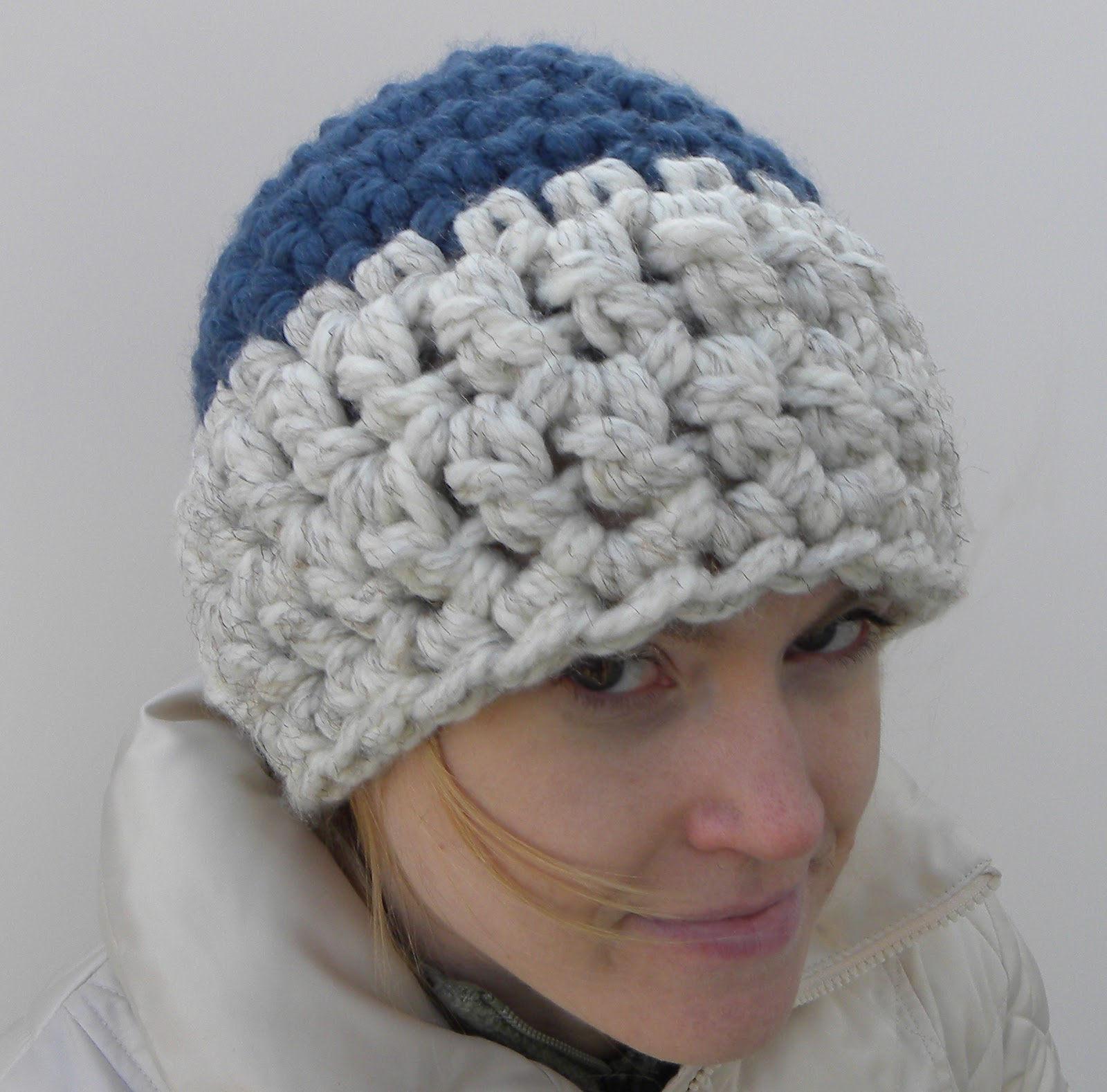 Crochet Pattern Helmet Hat : flower Gurl crafts: Crochet Beanie Hat