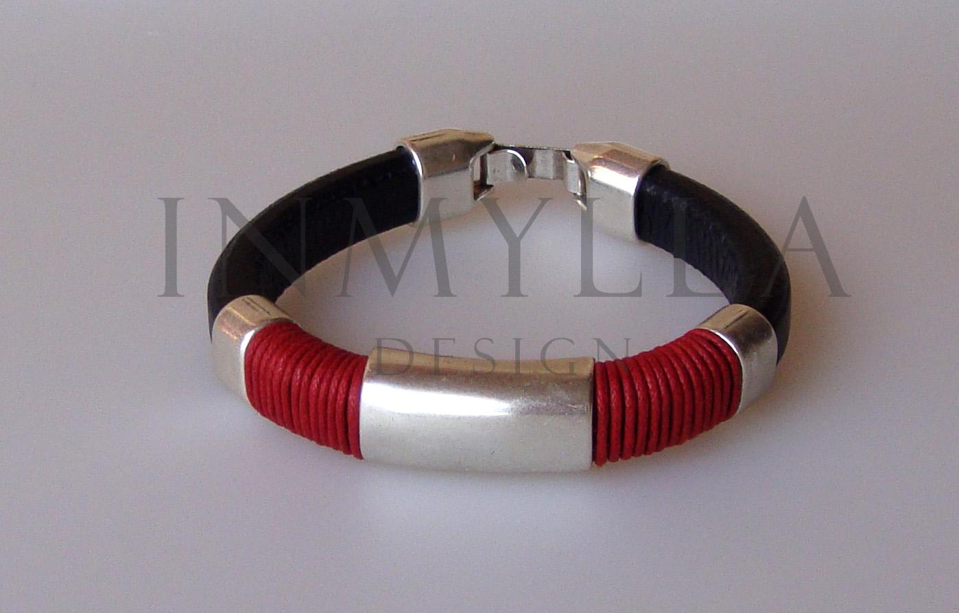 Inmylla design pulsera tubo de hombre for Tubo corrugado rojo precio