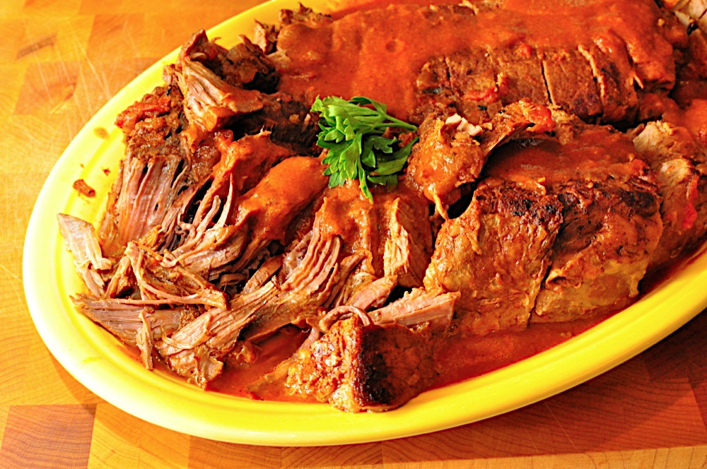 Slow Cooker Pot Roast, Tex-Mex Style - Dad Cooks Dinner