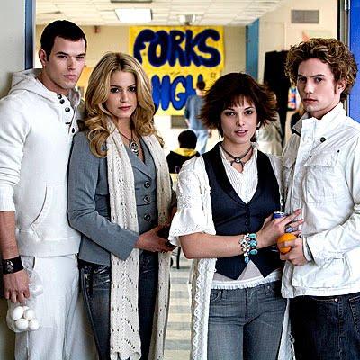 Alice, Jasper, Rosalie, Emmett