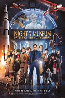 Uma noite no museo 2  (DUBLADO) Umanoitenomuseu2poster1h