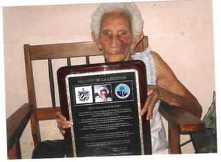 GUARDIA DE HONOR A GLORIA AMAYA GONZÁLEZ GloriaAmayaplaca