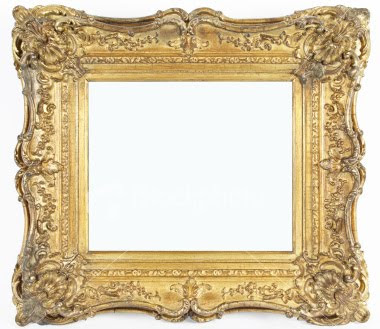 Cork Board: History of the frame in Art