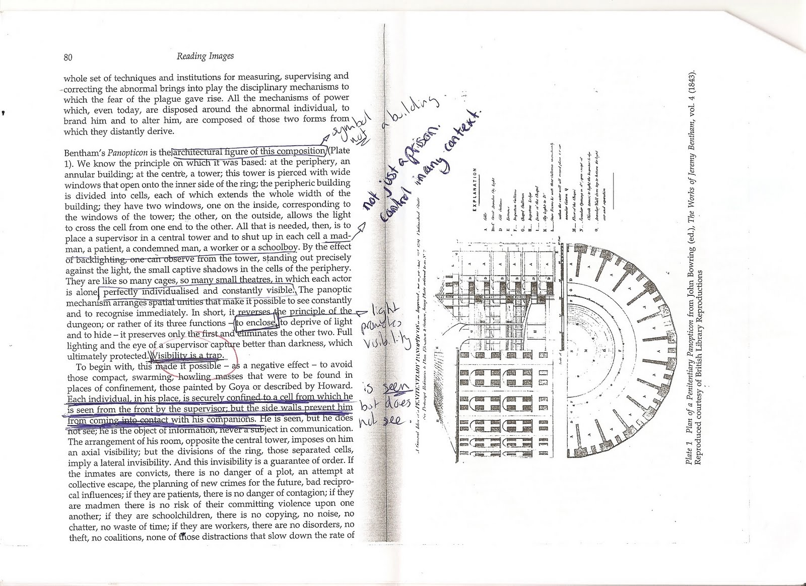foucault essay on panopticism Disciplinary power: panopticism in discipline and punish (1975), foucault introduces two idea of what he term's 'technologies of punishment' within these technologies are two representations of punishment monarchal punishment referring to the public and torturous punishment practices present during.