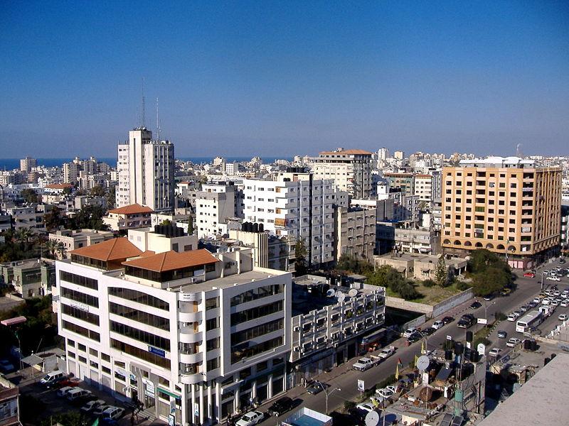منتديات لويس الفن - غزة Gaza%2Bcity%2Bskyline