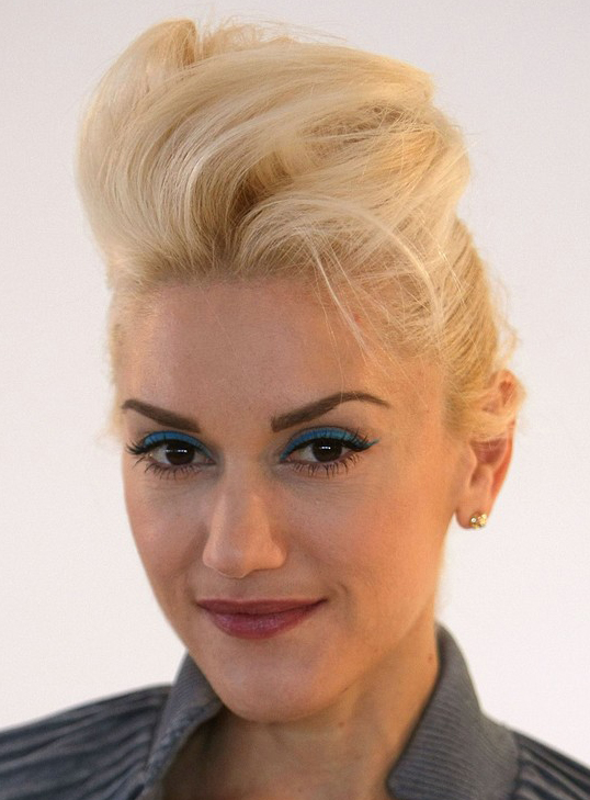gwen stefani hair color. gwen stefani hair color.
