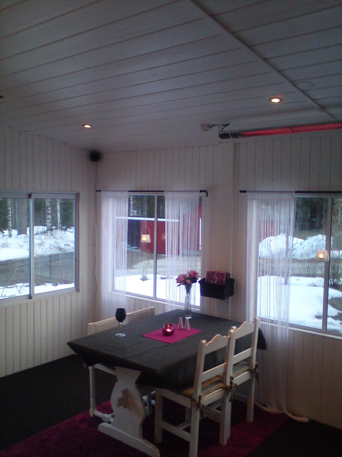 Tolis inredning: uterummet är stylat för sommar 2010