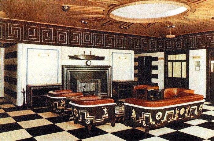 Tolis inredning inred med art deco for Famous art deco interior design