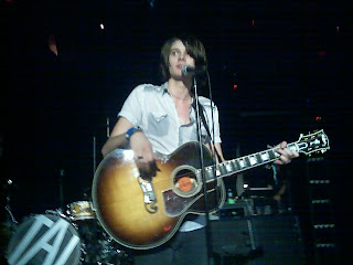 William Beckett of The Academy Is... played the new single, Winter Passing, at the Roxy in Boston, 2008.
