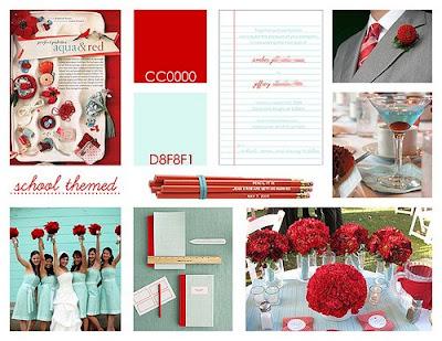 Screenshot of wedding web site