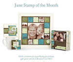 June's Stamp of the Month Wonderful Friend!