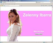 Sitio Web Zelenny Ibarra
