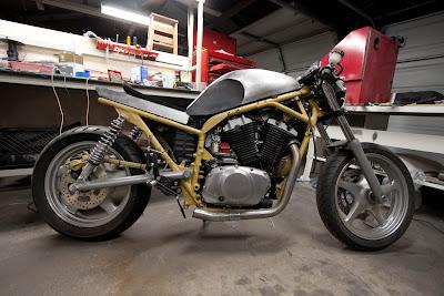 Suzuki VX800 Restoration Project: more paint schemes