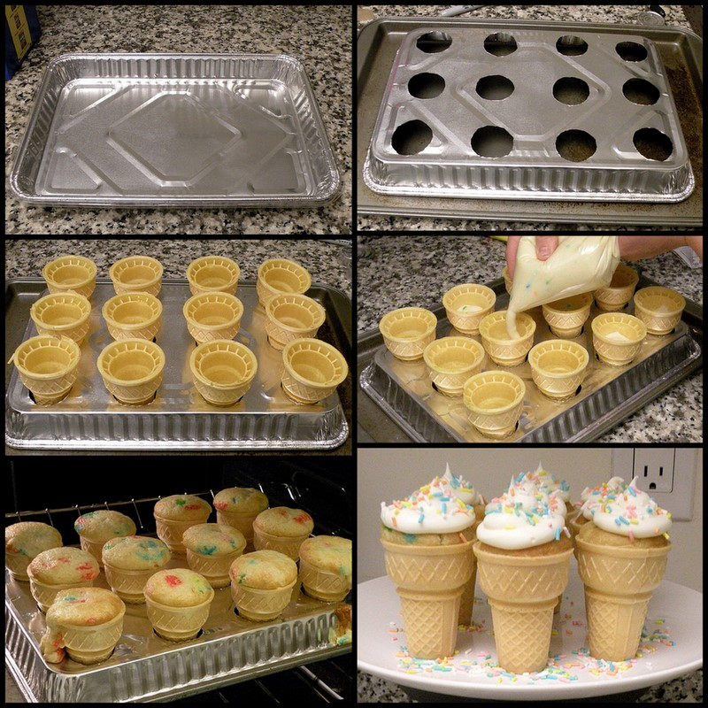 Cowie's Craft And Cooking Corner: Ice Cream Cone Cupcake Pan