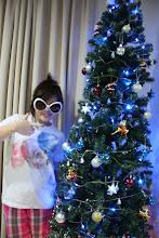 Me.Christmas tree