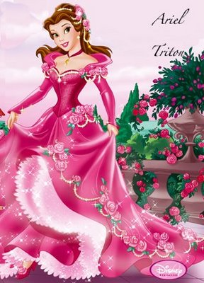 Anime Disney Princess Belle