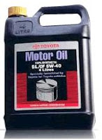 Automobile Cars Toyota 5w40 Fully Synthetic Motor Oil