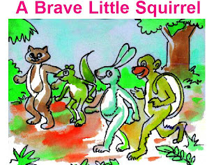 Children English - Story - A Brave Little Squirrel