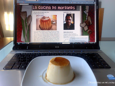 Flan de quesitos (Thermomix)