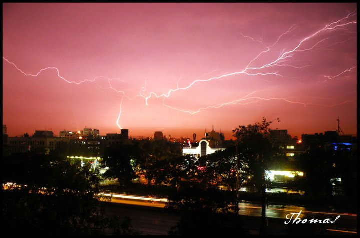Lightening strike mumbai