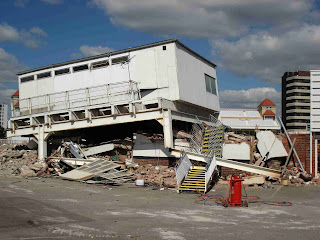 Demolition at Trent Bridge