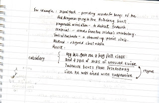 Notes on Mayakovsky's poetry method 2