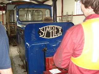 Golden Valley Light Valley engine under restoration at the Midland Railway Centre, Ripley on 28th June 2009