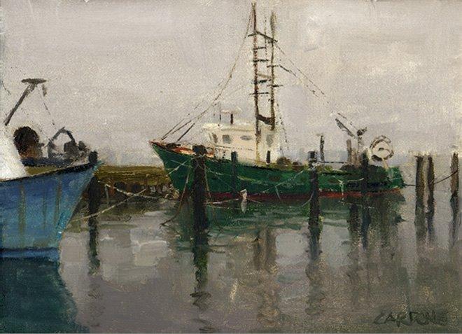 """""""Winter Rain"""" Hampton Bays, NY"""