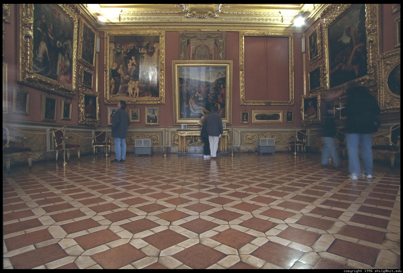 Students for centro unesco di firenze onlus palatine for Palazzo pitti
