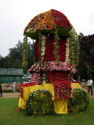 Ooty flower show Valluvarkottam