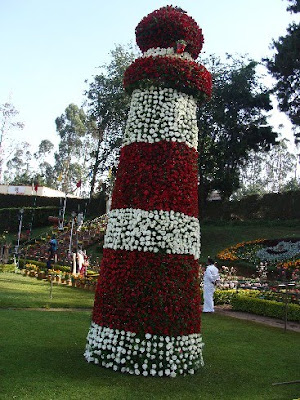 ooty flower show light house photo
