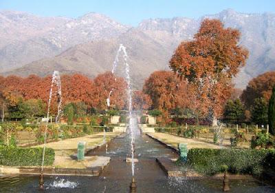 Kashmir Tourism-Nishat Garden