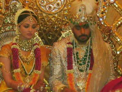 Aishwarya and Abhisek marriage photo