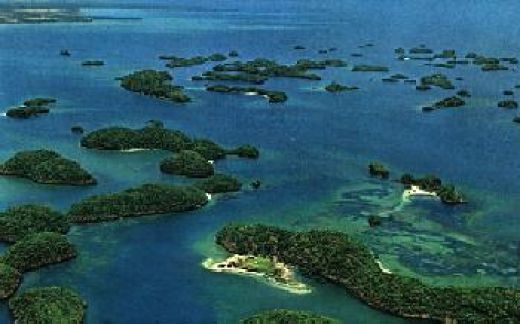 At Hundred Islands, the visitor may rent an island for one's own