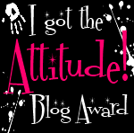 BLOG AWARD FROM CLAIRE