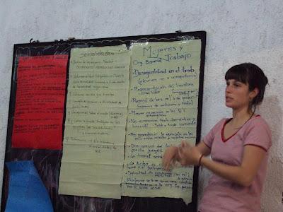 Conclusiones Taller de Mujeres y Trabajo/Organización Barrial