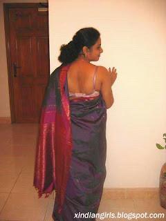 saree lift spread