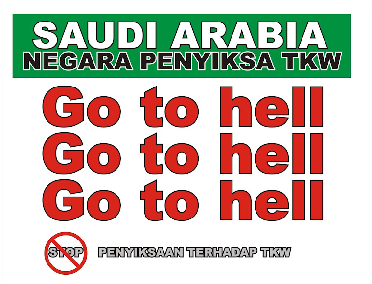 go to hell arab saudi