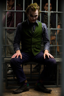 As Joker in The Dark Knight