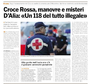 Croce Rossa, manovre e misteri... un 118 tutto illegale in Sicilia