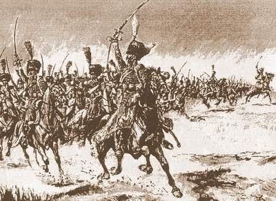 2me. de Hussars at Medellín
