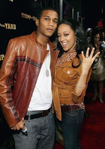 pics of tia mowry husband. tamera mowry and husband.