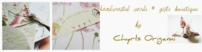 Handmade Cards Gift Box Papercrafts Boutique by Chyrls Origami
