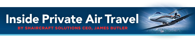 Inside Private Air Travel by Shaircraft Solutions