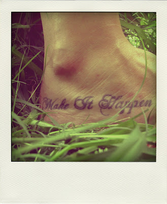 foot tattoos quotes. the Confucius quote - quot;If