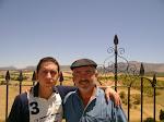 Con mi amigo Roberto Silva en Ronda - España