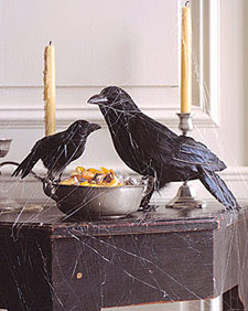 along with my thing for black halloween cats i have a thing for black crows ravens these creepy crows came from the awesome folks over at martha